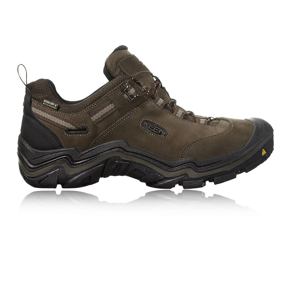 KEEN-viandante-Da-Uomo-Marrone-Impermeabile-All-039-
