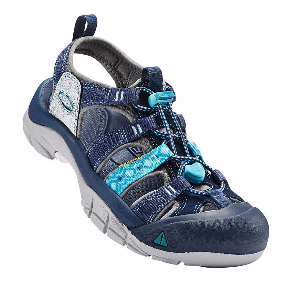 keen newport evo h2 damen trekkingsandalen wanderschuhe outdoor sandalen blau ebay. Black Bedroom Furniture Sets. Home Design Ideas