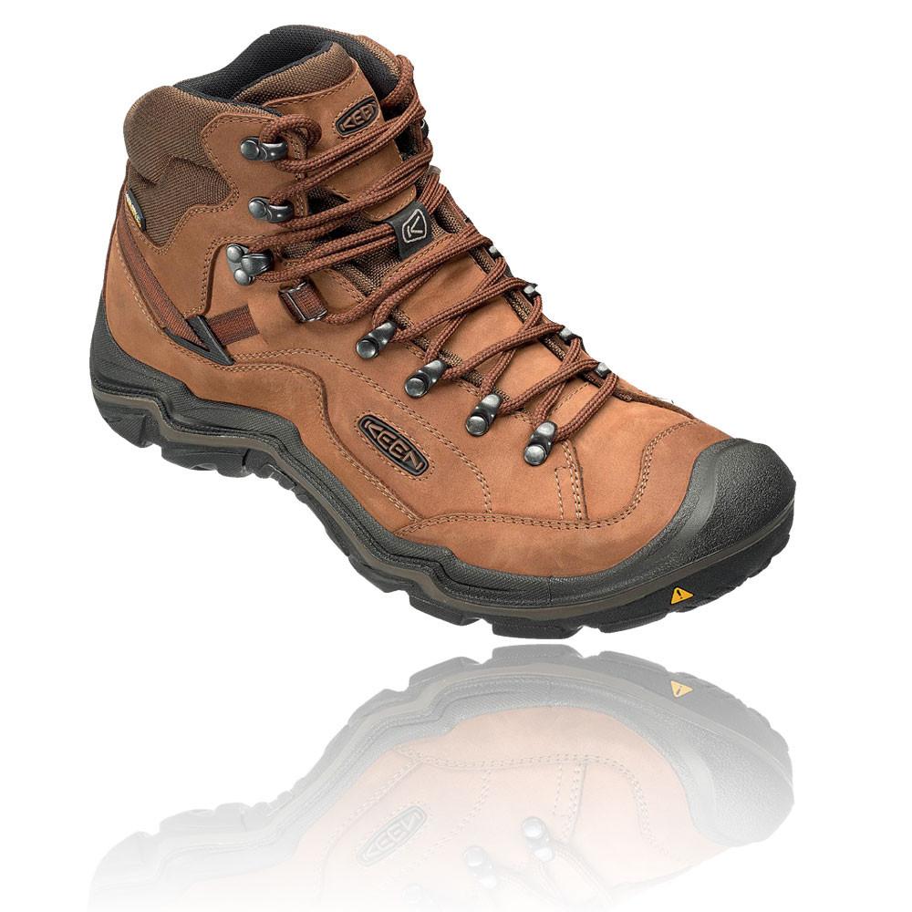 Mens Galleo Waterproof Mid High Rise Hiking Shoes, Brown Keen