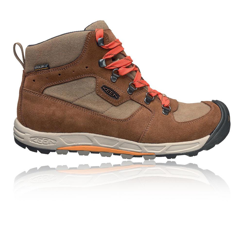 Keen hacia el Oeste Medio Medio Medio para Hombre Marrón Impermeable Caminar Zapatos Botas De Camping d2fbe5