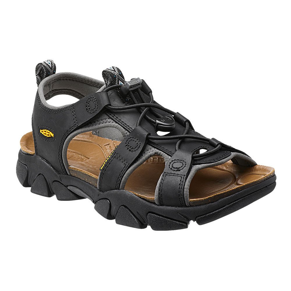 keen sarasota damen outdoor sandalen wandersandalen trekkingschuhe schwarz ebay. Black Bedroom Furniture Sets. Home Design Ideas