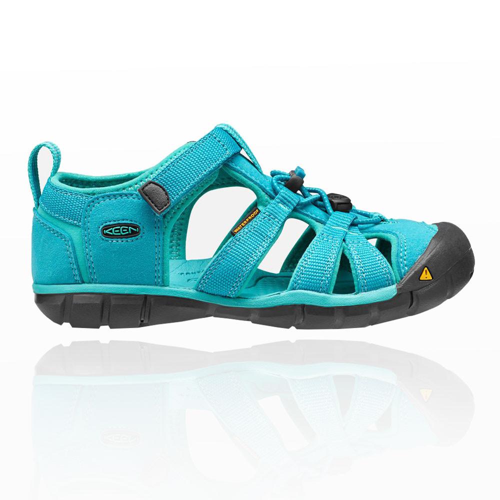 keen seacamp ii cnx kinder trekkingsandalen wanderschuhe outdoor sandalen blau ebay. Black Bedroom Furniture Sets. Home Design Ideas