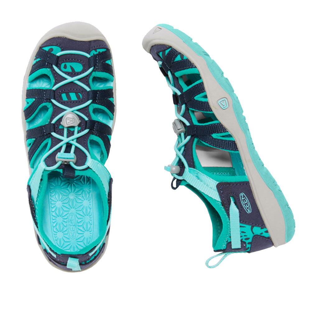 Keen Moxie Junior Orange Purple Outdoors Walking Hiking Summer Shoes Sandals