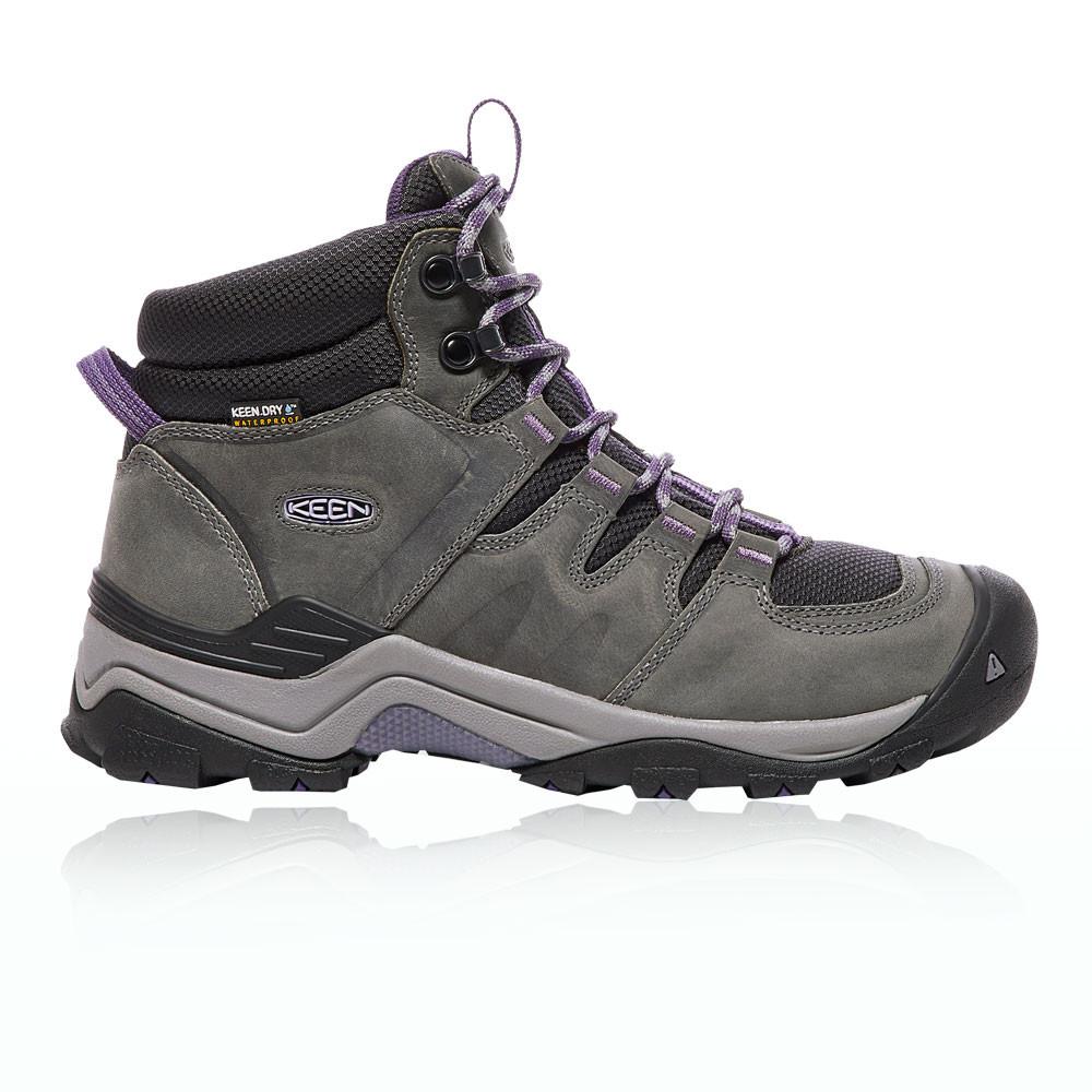 Keen Hombre Gris Gris Gris Violeta Aire Libre Zapatos Impermeable Transpirables Calzado 368451
