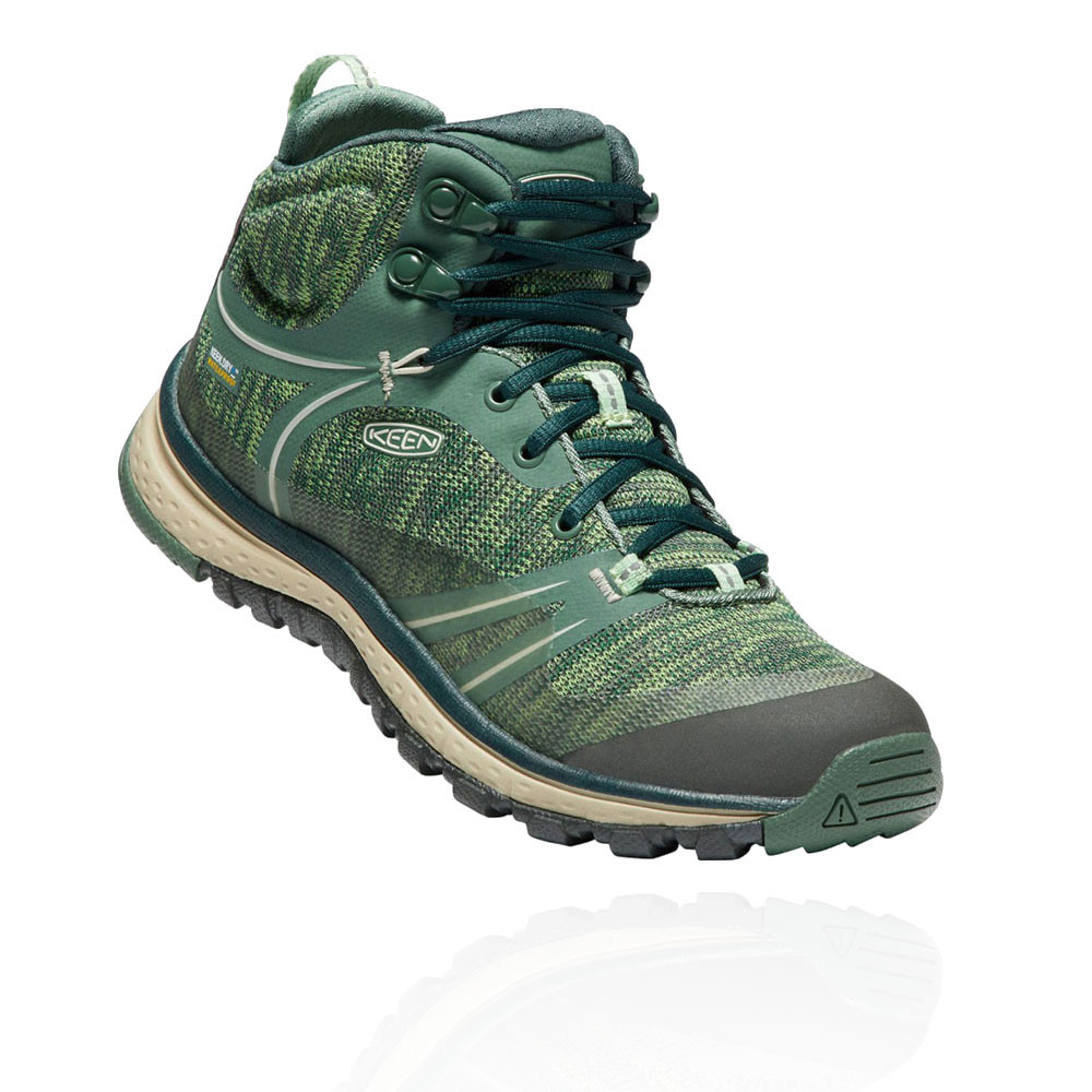 055da25f33d Details about Keen Womens Terradora Mid Waterproof Walking Boots Green  Sports Outdoors