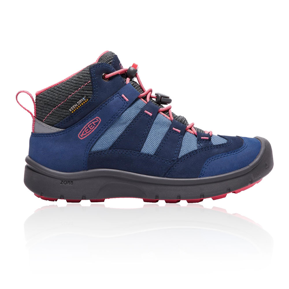 Keen Junior Hikeport Stiefel Mid Waterproof Hiking Stiefel Hikeport Blau Sports Outdoors Breathable 2f33a7
