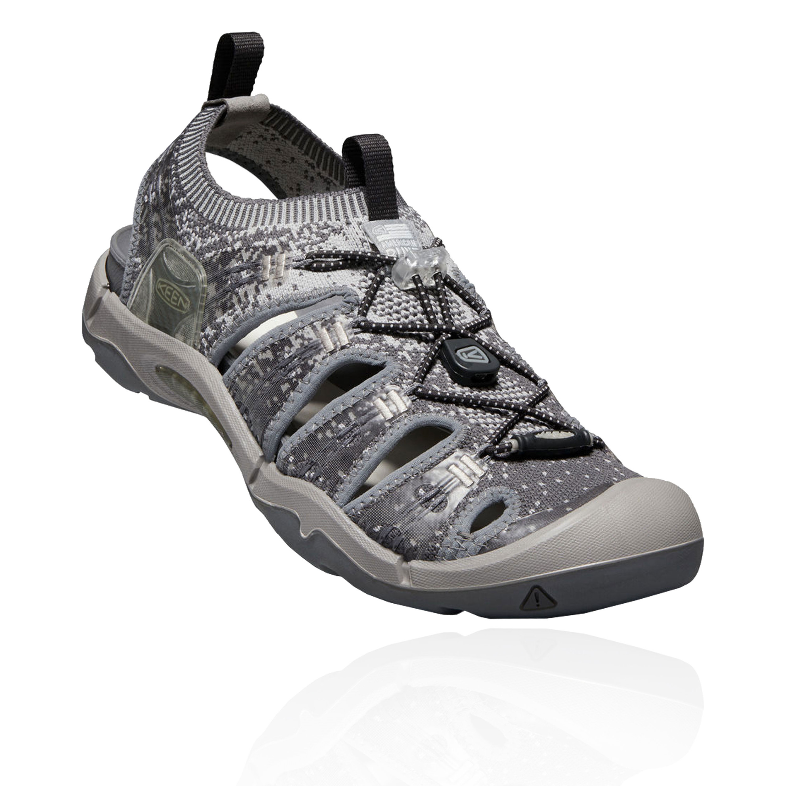 a3ff61c5a894 Keen Mens Evofit One Walking Shoes Sandals Grey Sports Outdoors ...