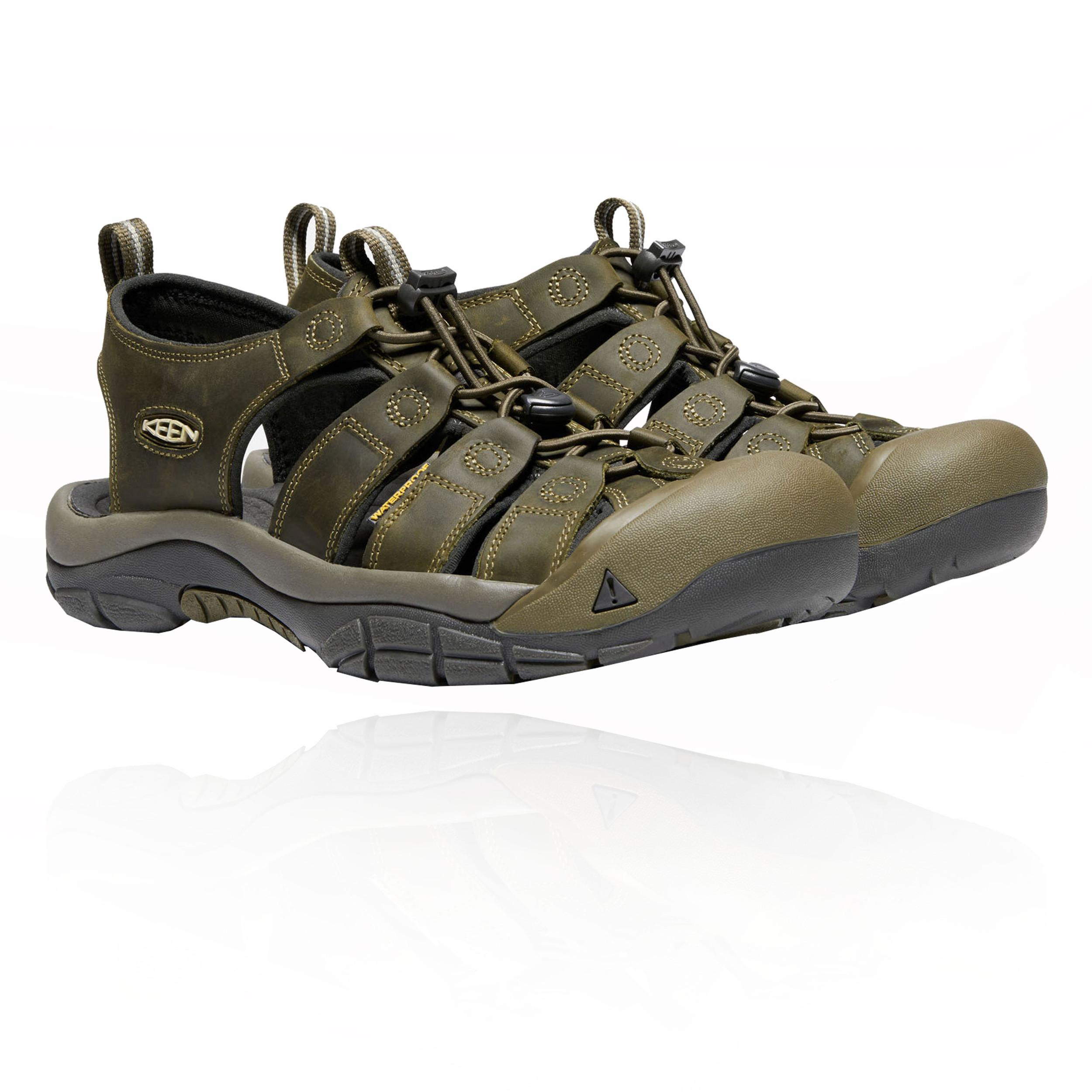 Sandali verdi per uomo Keen Newport LhU2r