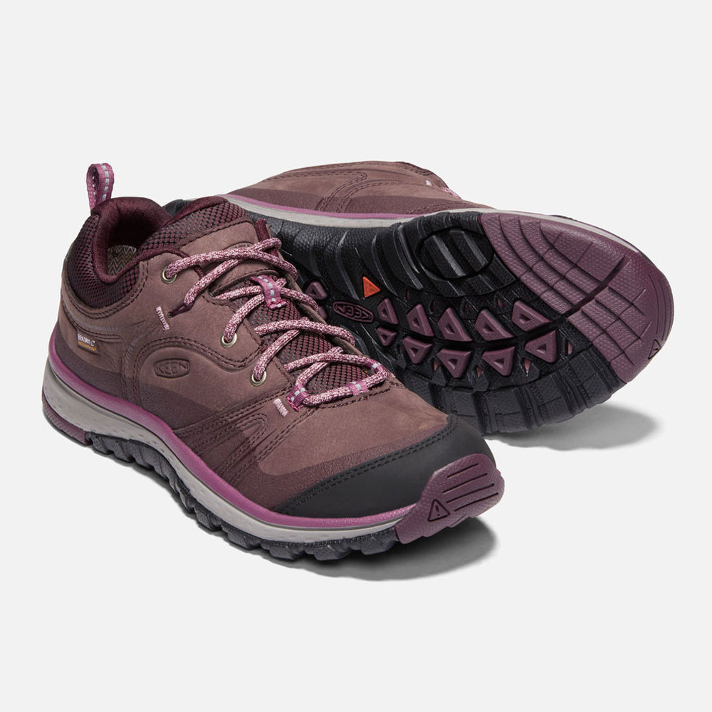 561778fc8570cd Keen Damen Terradora Leder Wasserdicht Wanderschuhe Trekking Outdoor Schuhe