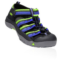 Keen Junior Newport H2 Chaussures De Marche Sandales Noir Vert Sport Outdoors