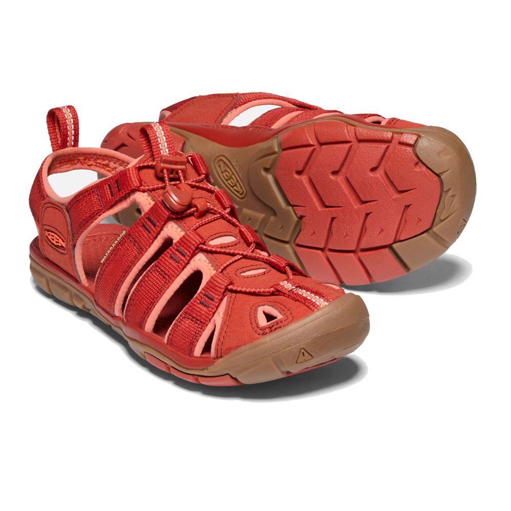 Keen Clearwater para Mujer Damas Sandalias Zapatos Para Caminar Ajustable Gris Talla 4-8