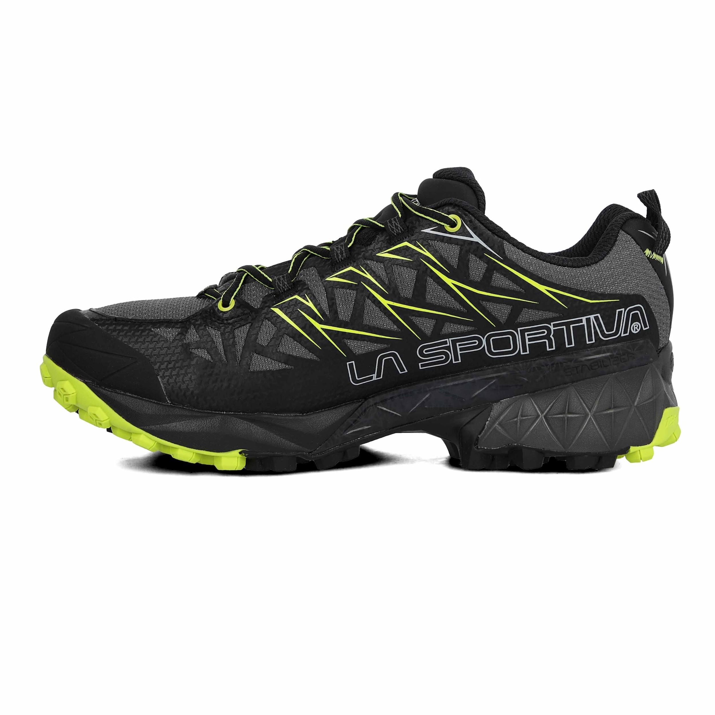 selezione migliore d5873 41473 Dettagli su La Sportiva Uomo Akyra GTX Trail Scarpe Da Corsa Ginnastica  Sport Sneakers Nero