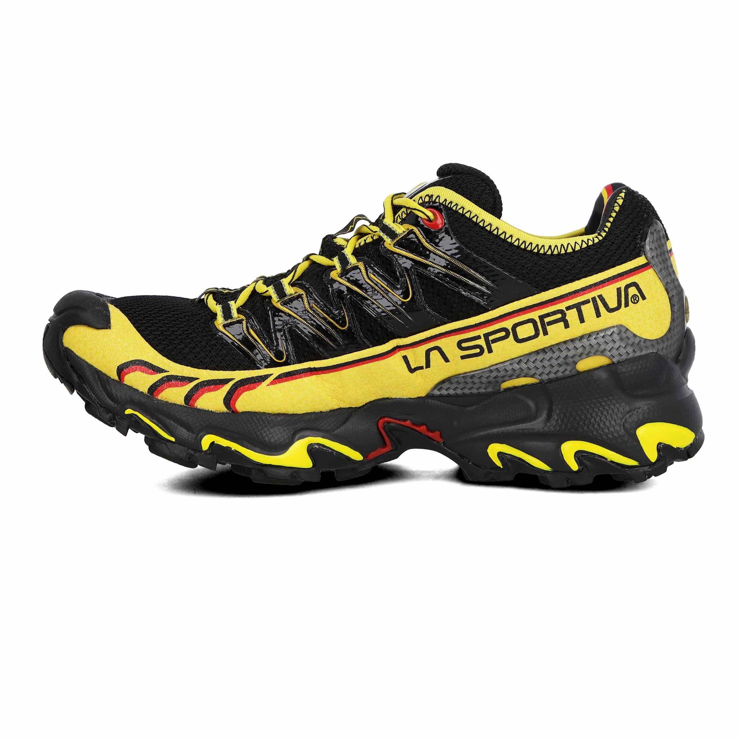 Dettagli su Da Uomo Ultra La Sportiva Raptor Trail Running Scarpe da Ginnastica Nero mostra il titolo originale