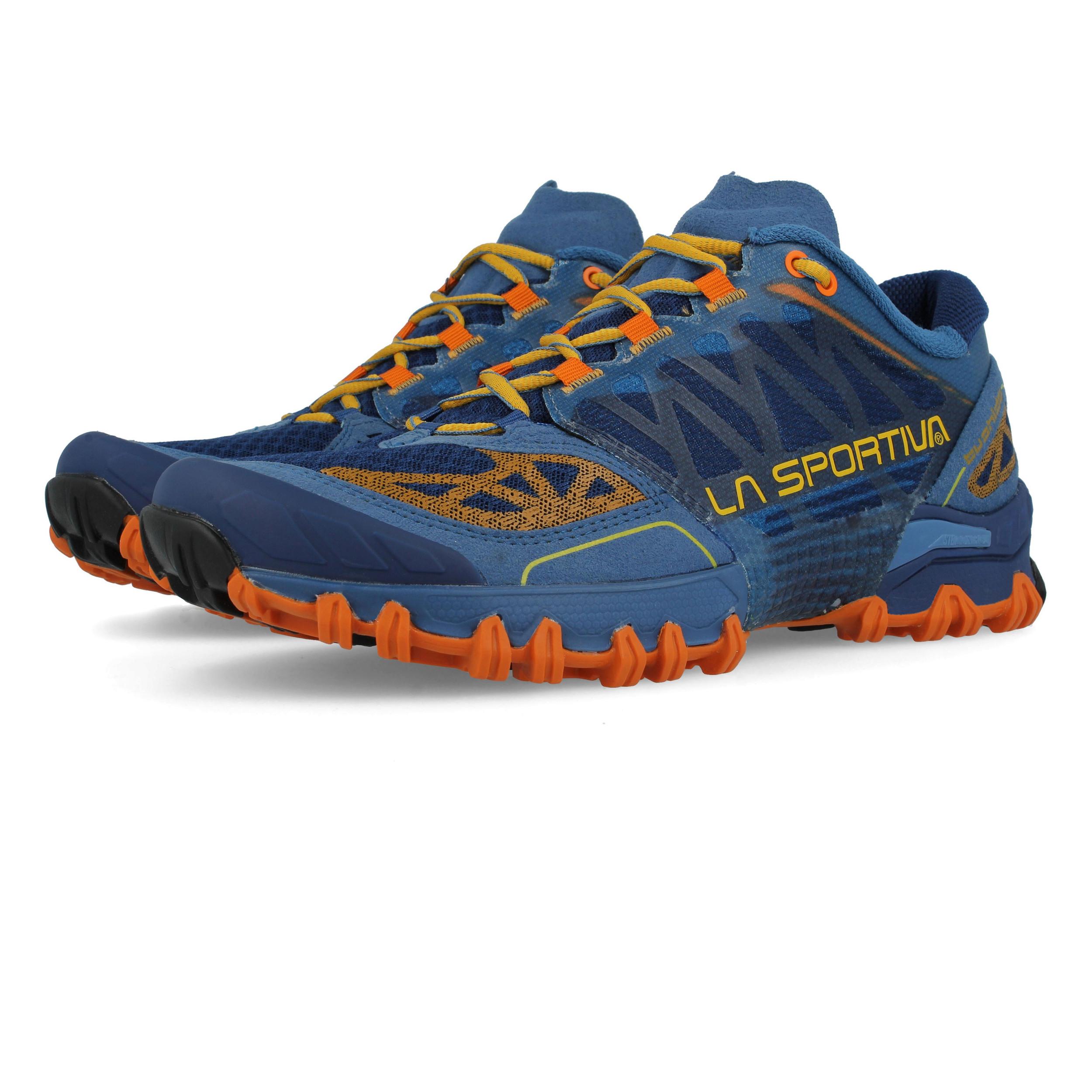 migliori scarpe da ginnastica 41141 d39ed La Sportiva Bushido Uomo Arancione Blu Trekking Corsa Scarpe da Ginnastica  Sport | eBay