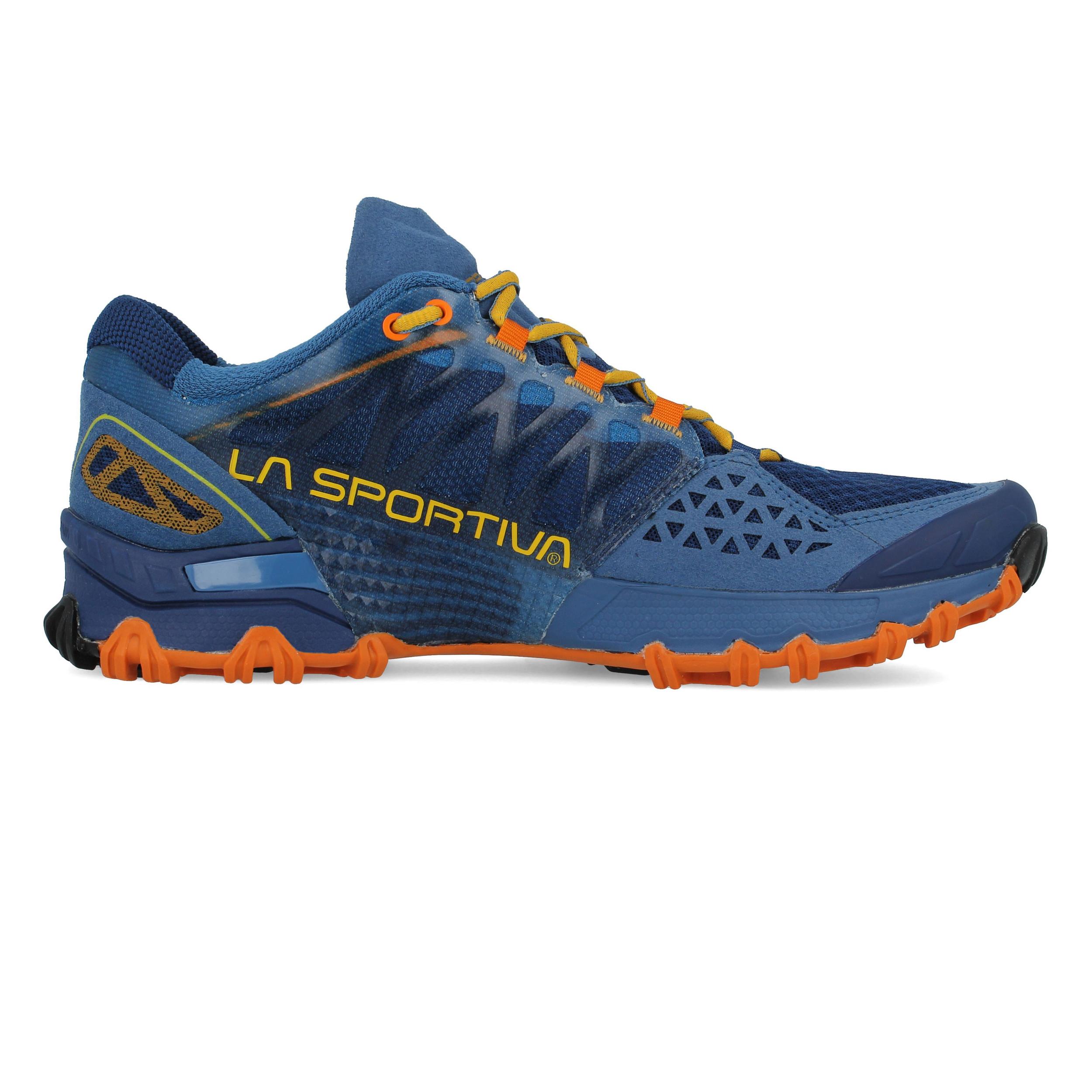 rivenditore di vendita ffd9c b0710 Dettagli su Sportiva Bushido Da Uomo La Arancio Blu Trail Running Scarpe da  ginnastica scarpe sportive- mostra il titolo originale