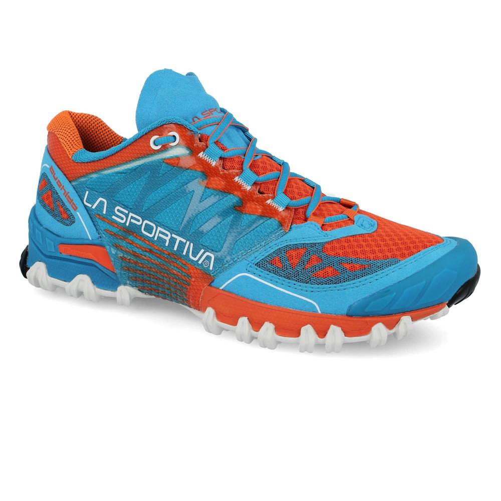 13f8d526146e62 La Sportiva Bushido Trail Herren Laufschuhe Jogging Turnschuhe Sport Schuhe  Blau