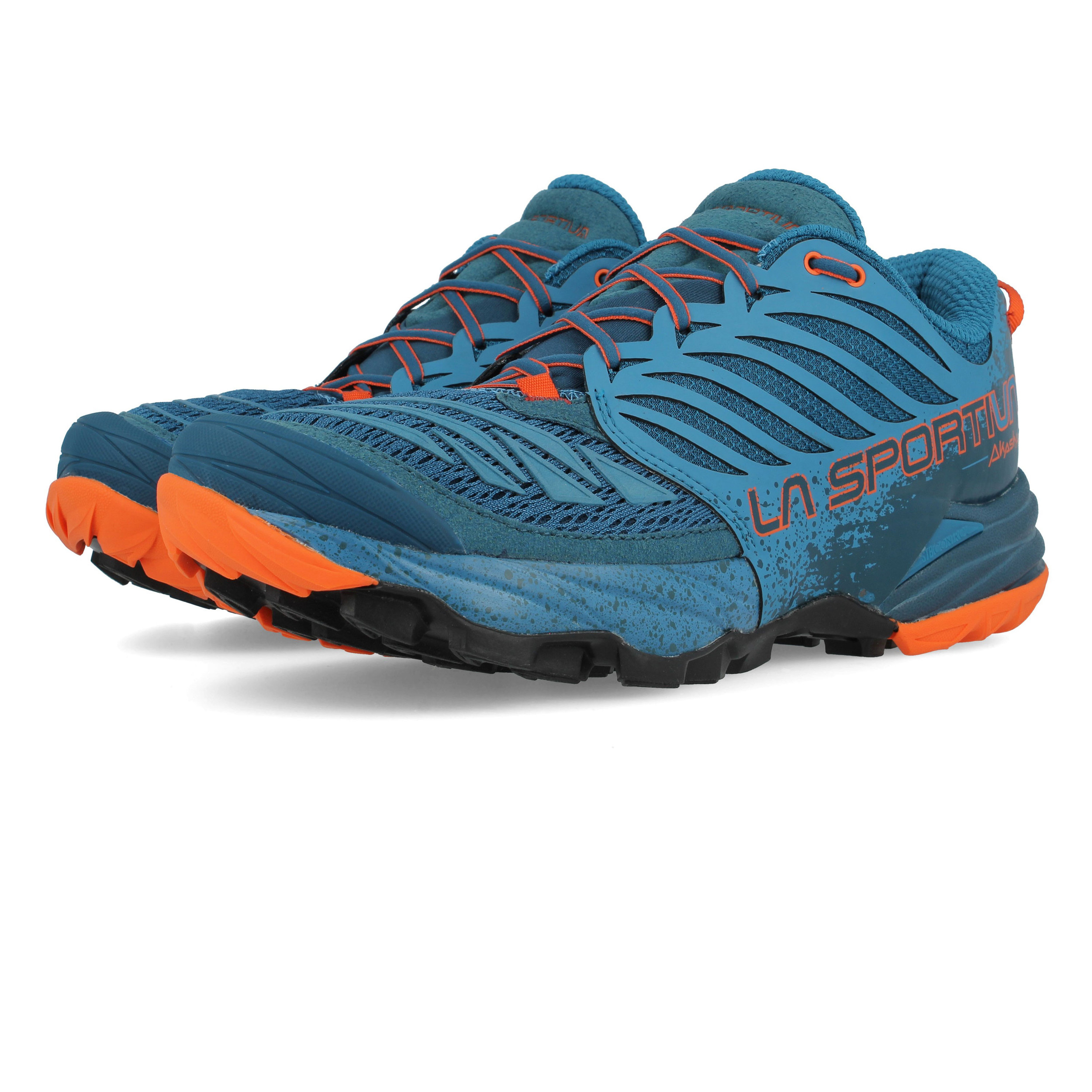 foto ufficiali 71152 a48ea Dettagli su La Sportiva Akasha Uomo Blu Trail Scarpe Da Corsa Ginnastica  Sneakers Sport