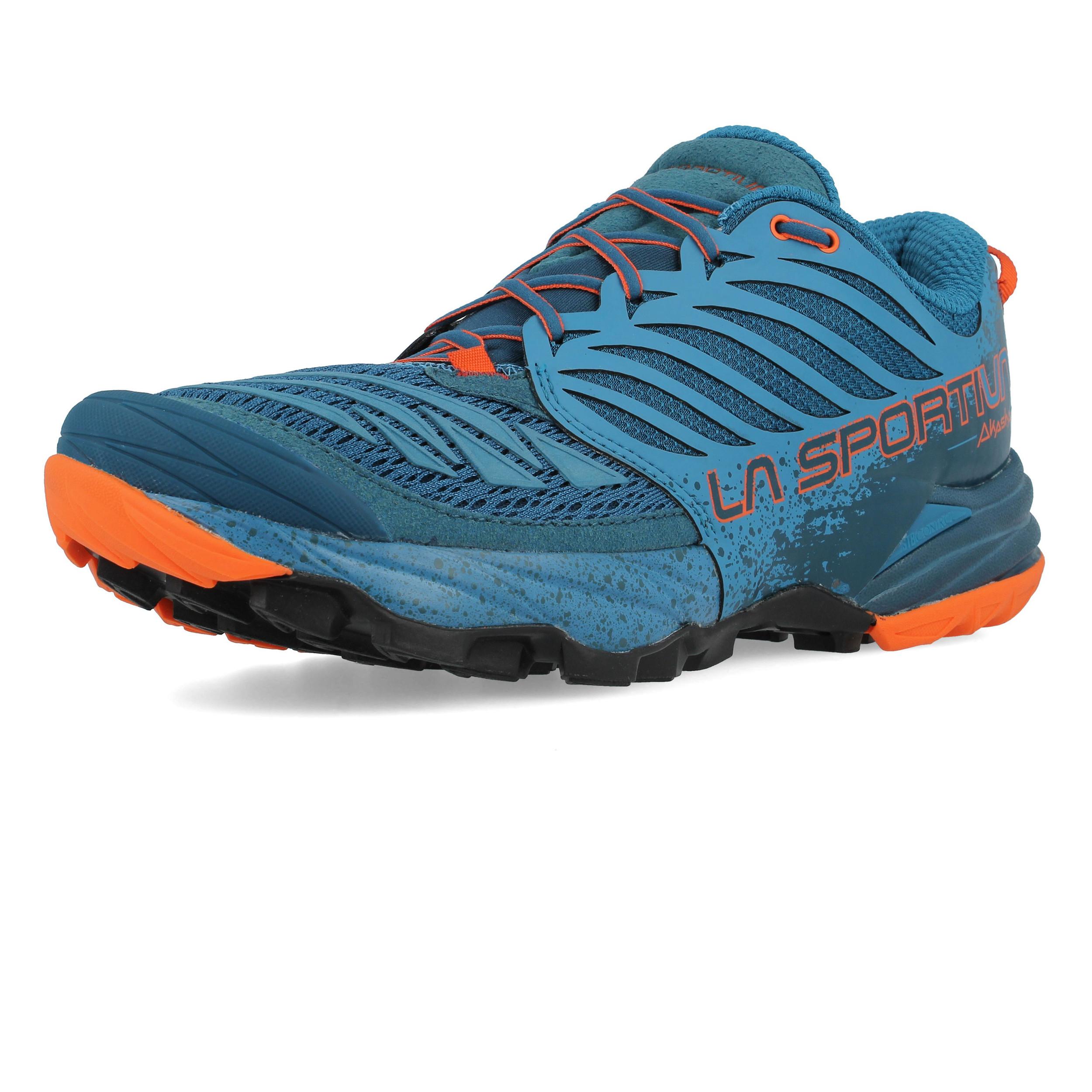 size 40 9c5b1 437f9 Details zu La Sportiva Akasha Trail Herren Laufschuhe Jogging Turnschuhe  Sport Schuhe Blau