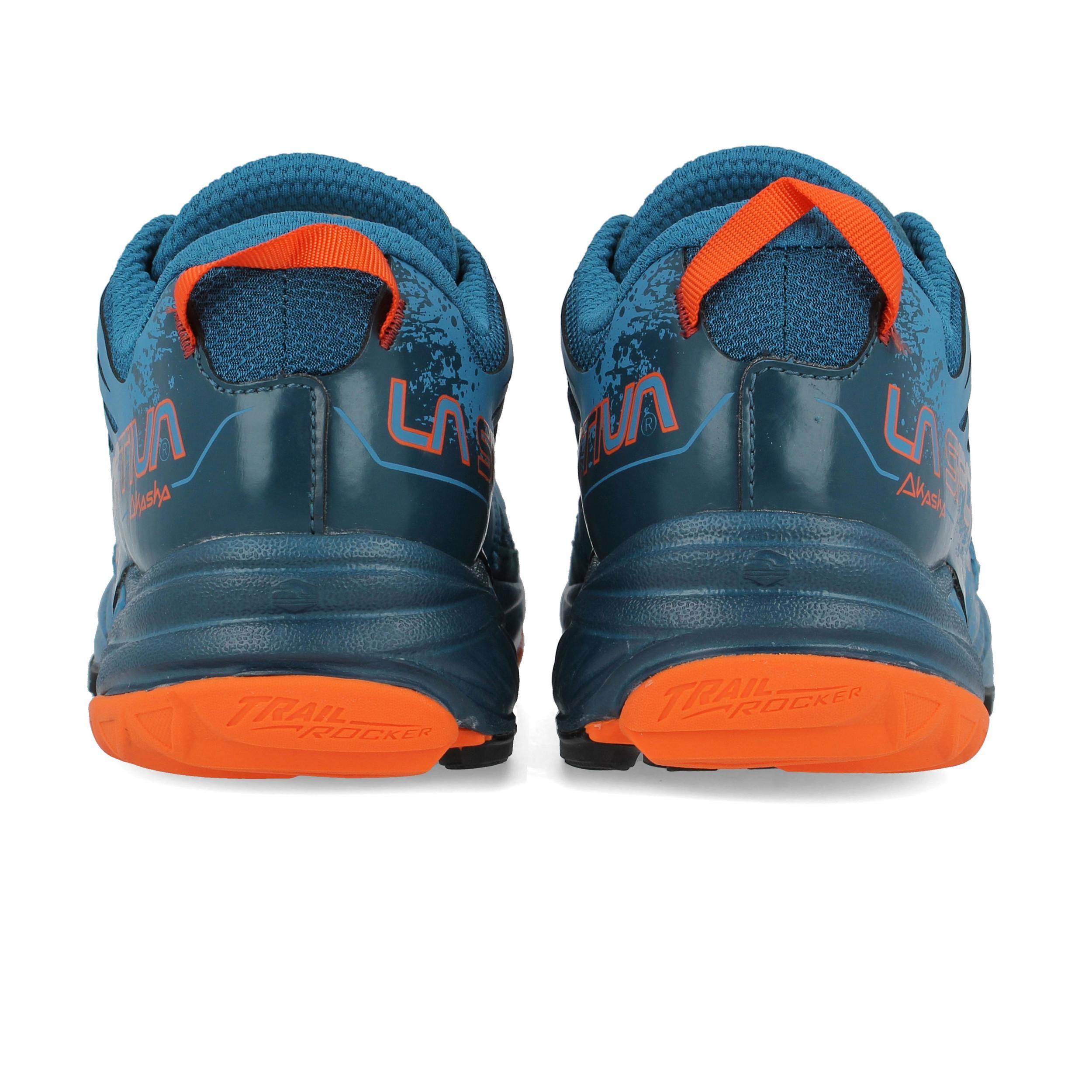 La SPORTIVA Akasha Da Uomo Blu Blu Blu Trail Running Scarpe Sportive Scarpe da ginnastica pompe f05469
