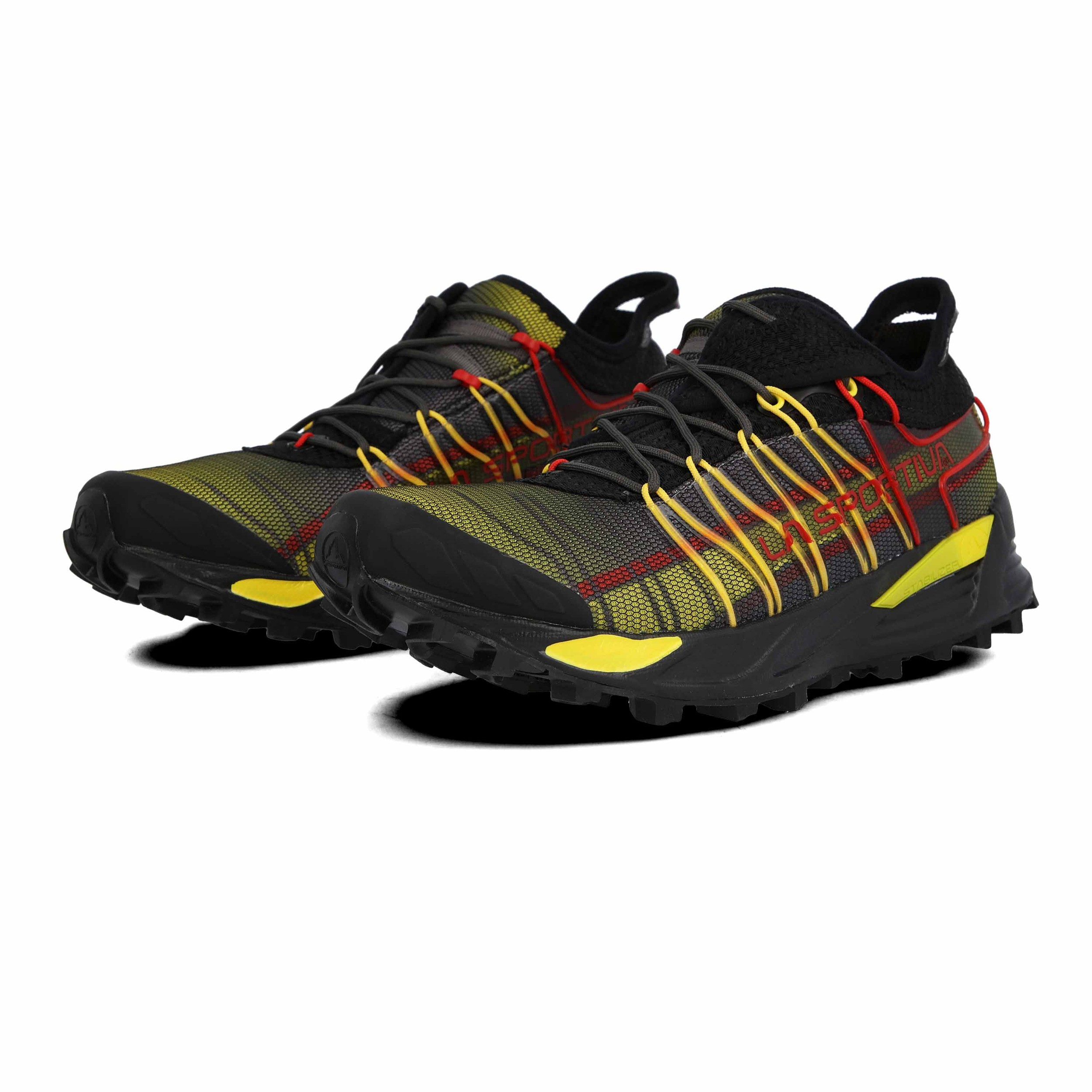 La Sportiva Mens Mutant Trail Running Shoes Trainers Black Orange Sports