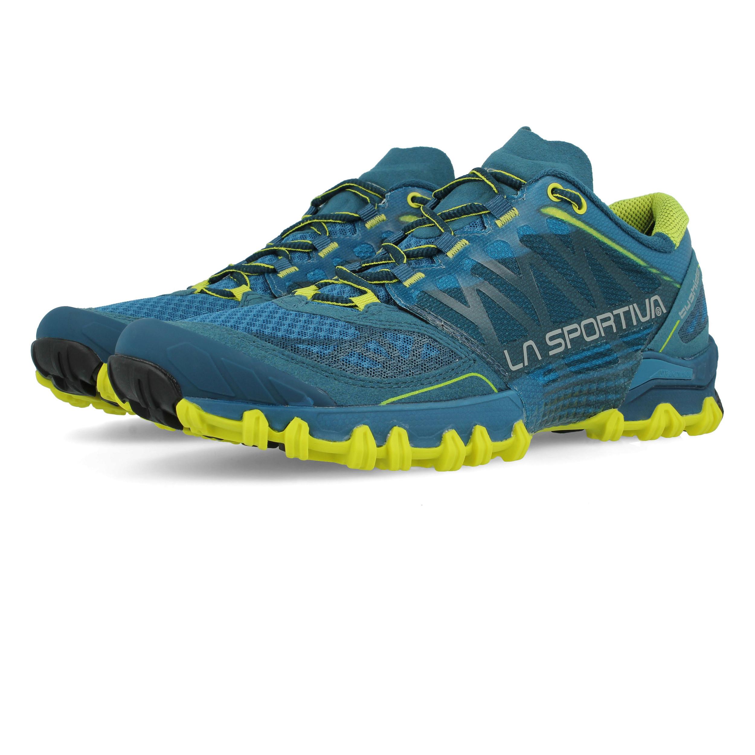 La Sportiva Herren Blau Bushido Trail Jogging Schuhe Laufschuhe Sportschuhe