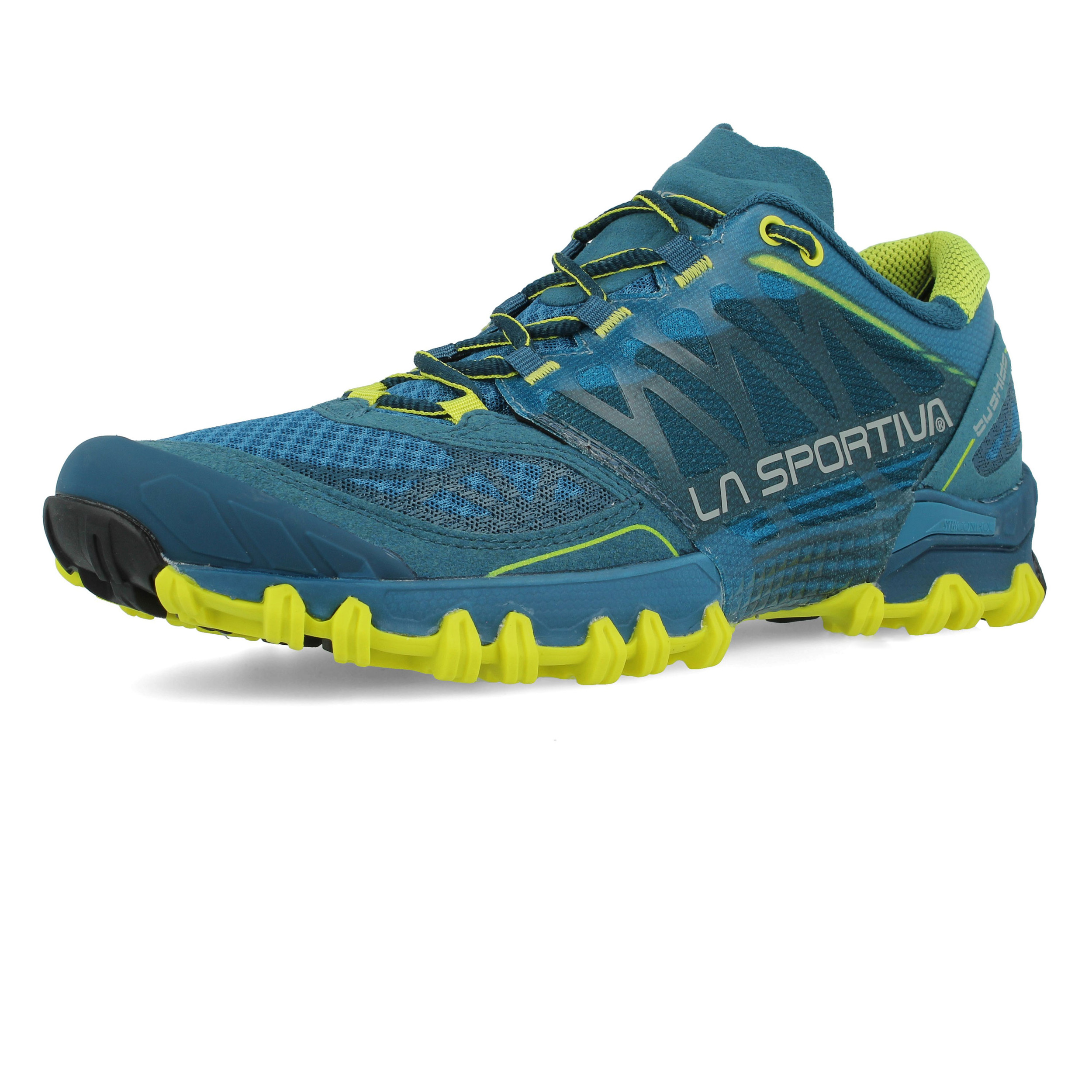b6be766633e190 La Sportiva Herren Blau Bushido Trail Jogging Schuhe Laufschuhe ...