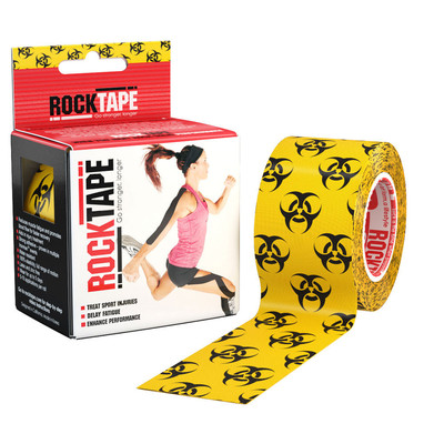 RockTape Kinesiology 2 Inch Roll Support Tape