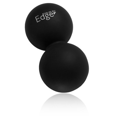 Live On The Edge Double Silicone Ball - SS20