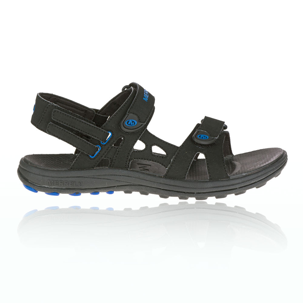 merrell herren schwarz cedrus convert sandalen outdoorsandalen sommerschuhe ebay. Black Bedroom Furniture Sets. Home Design Ideas