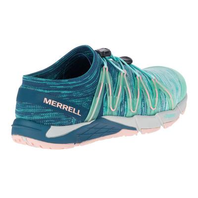 Merrell Femmes Bare Access Flex Knit Chaussures Aqua 6.5