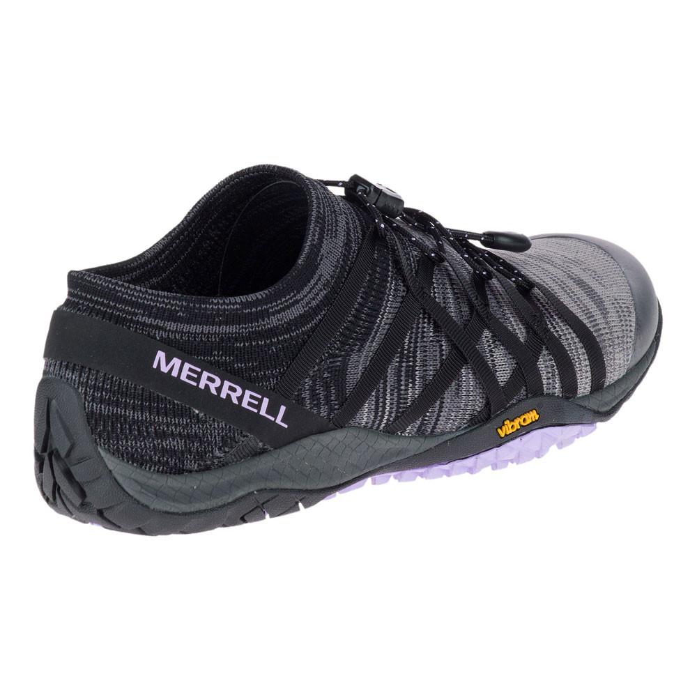Merrell TRAIL GLOVE 4 KNIT - Trainers - black VviB1sTWyf