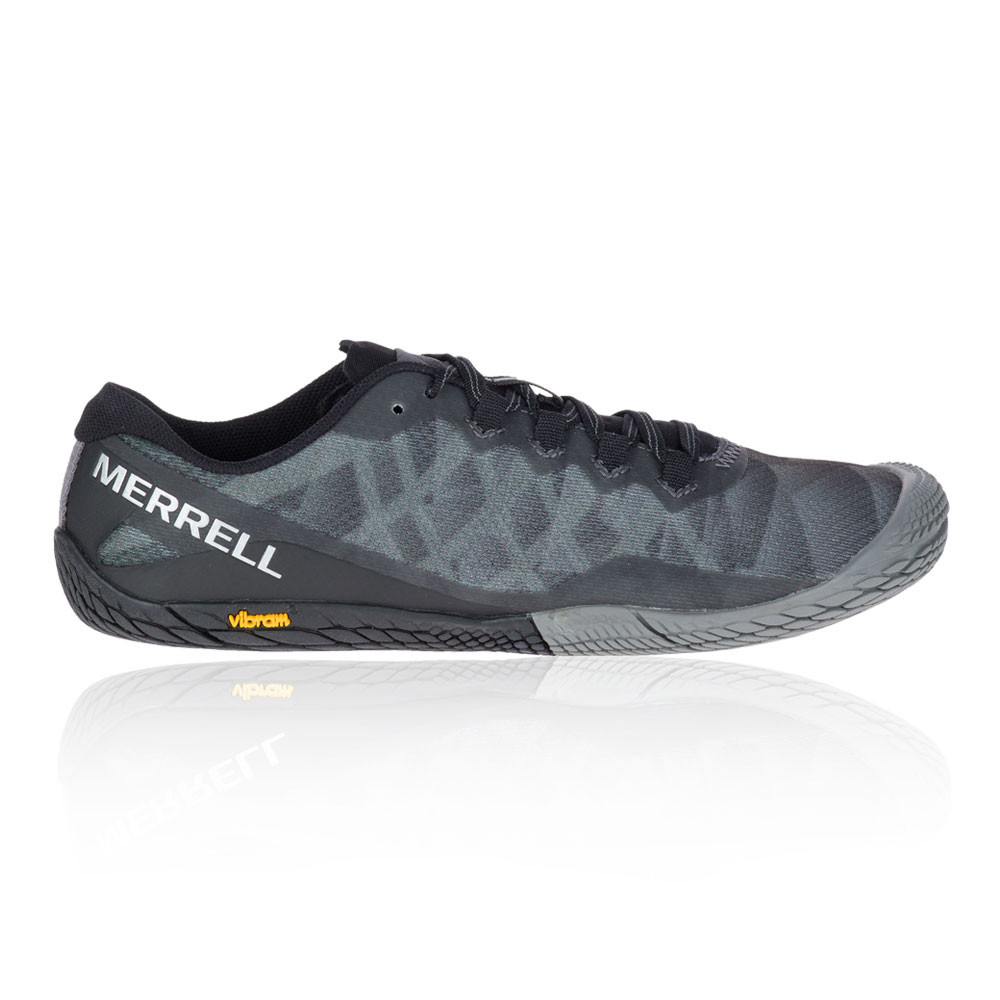 35e419f89b2 Details about Merrell Womens Vapor Glove 3 Trail Running Shoes Trainers  Sneakers Black Grey