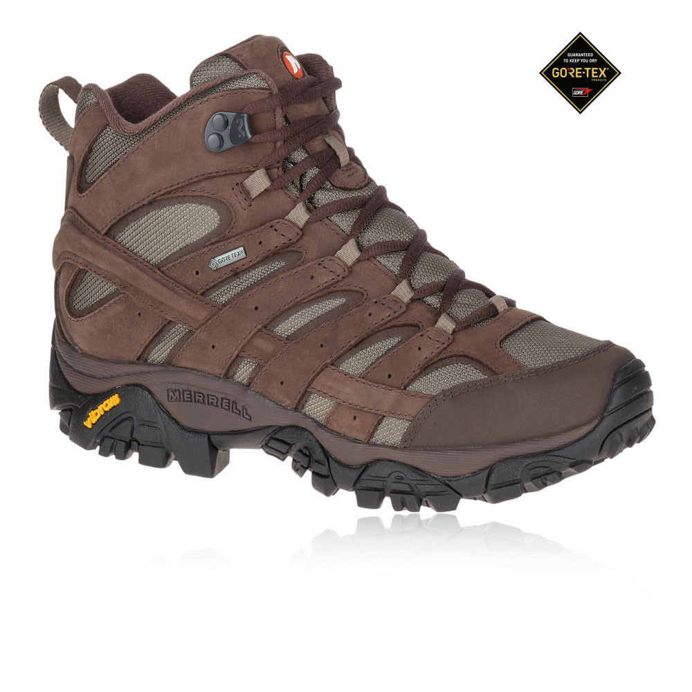 fee69e587e Merrell Moab 2 Smooth Mid GORE-TEX Walking Boots
