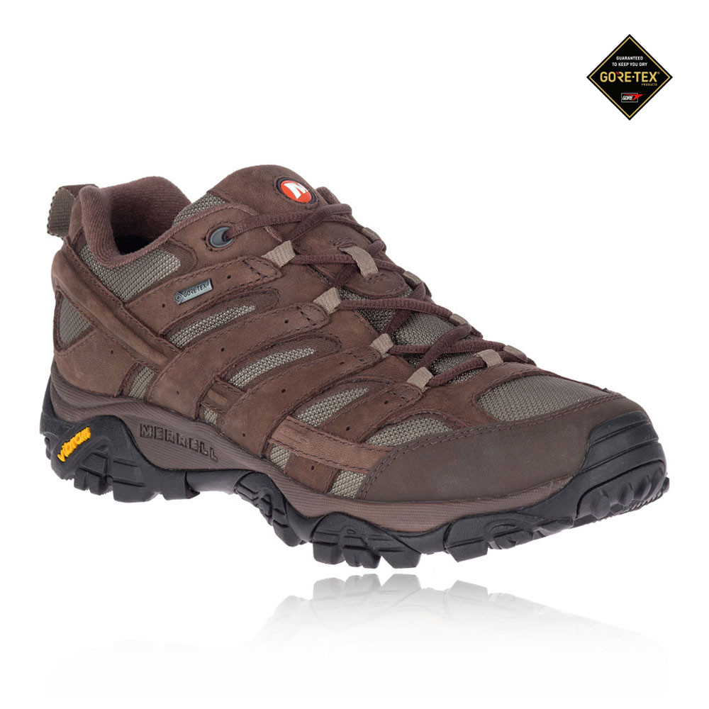 buy online 7459c 11114 Merrell Moab 2 Smooth GORE-TEX Walking Shoes - 50% Off   SportsShoes.com