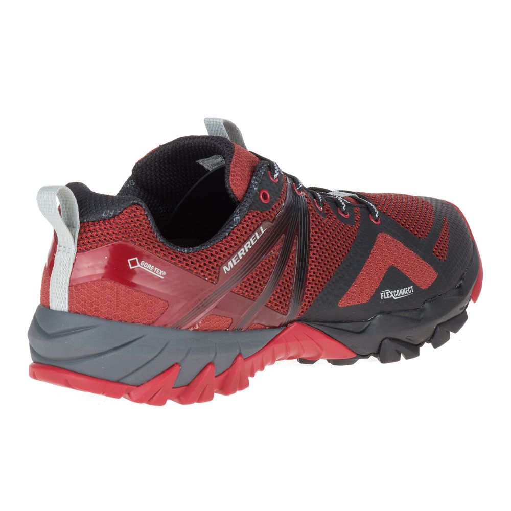 27b50227 Details about Merrell Mens MQM Flex GORE-TEX Trail Running Shoes Trainers  Sneakers Red Sports