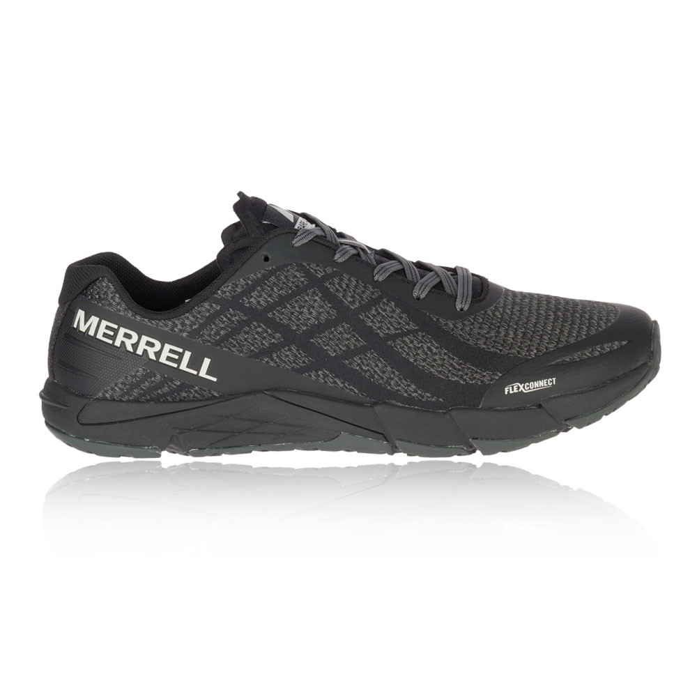 a37eba6c4361a Details about Merrell Mens Bare Access Flex Shield Trail Running Shoes  Trainers Sneakers Black