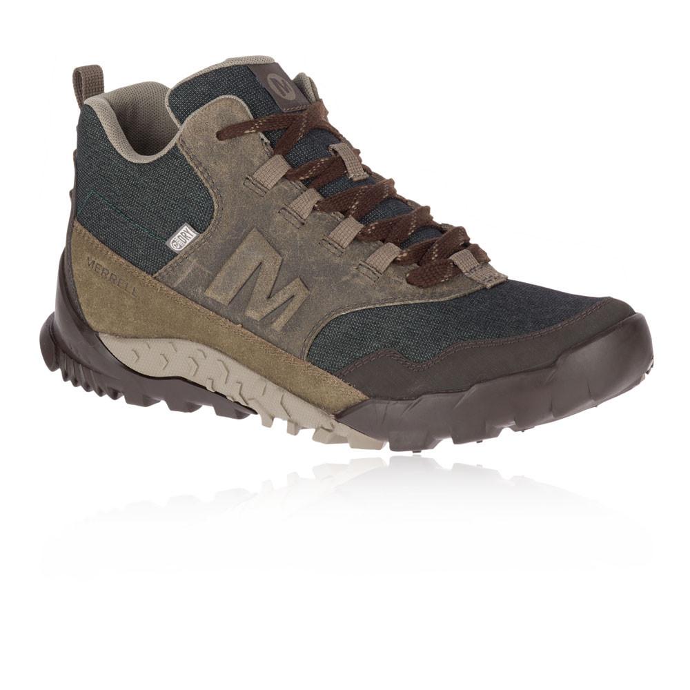 Merrell Herren Annex Recruit Mid Wanderschuhe Trekking Outdoor Schuhe Turnschuhe