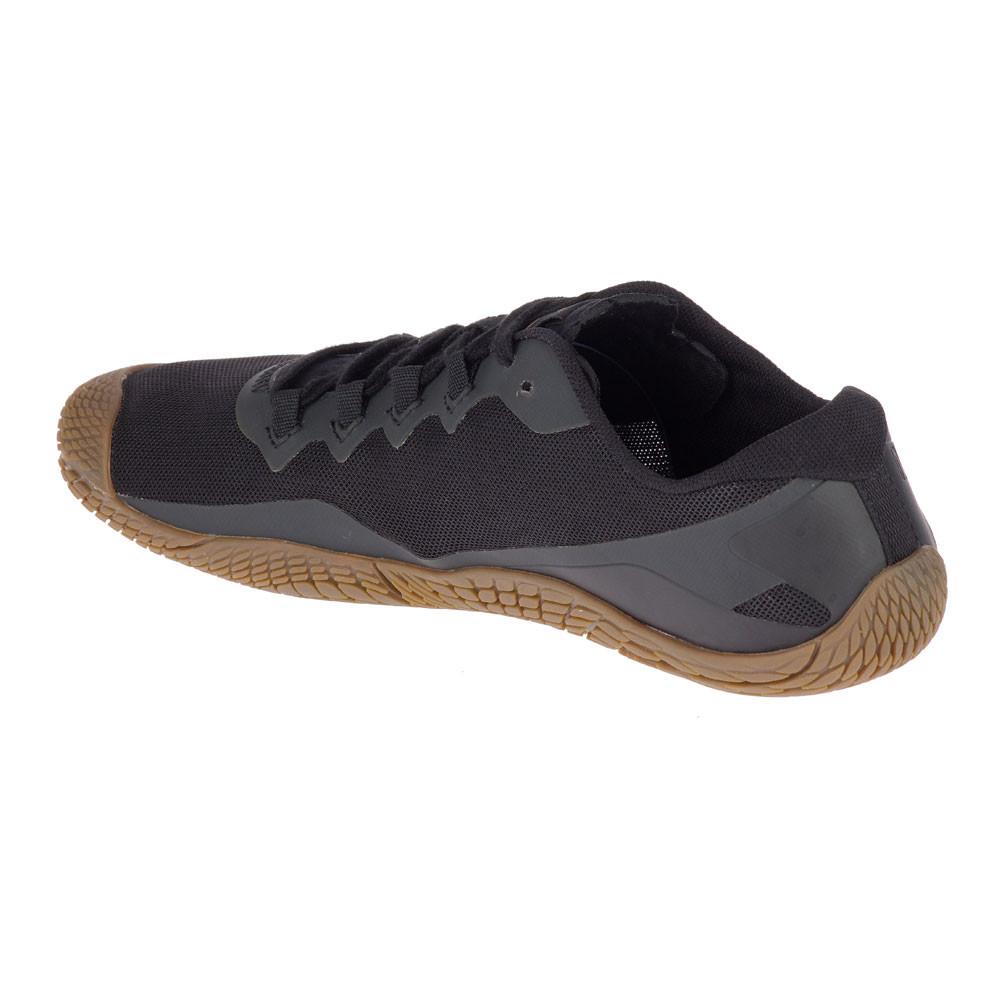 the best attitude cb0c2 db110 Merrell Mens Vapor Glove 3 Luna Trail Running Shoes Trainers Sneakers Black  Grey