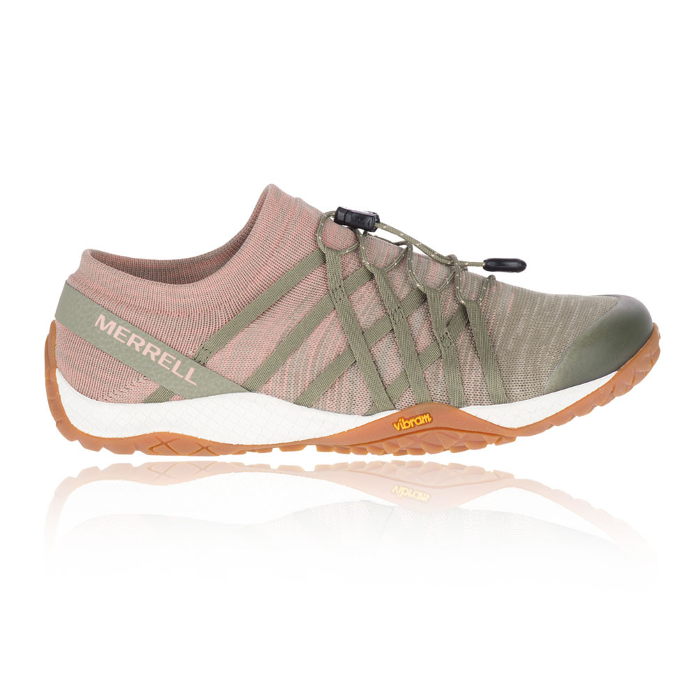 fc8006b6 Details about Merrell Womens Trail Glove 4 Knit Running Shoes Trainers  Sneakers Pink Sports