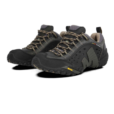 Merrell Intercept Chaussures De Marche Basket En Cuir Trail