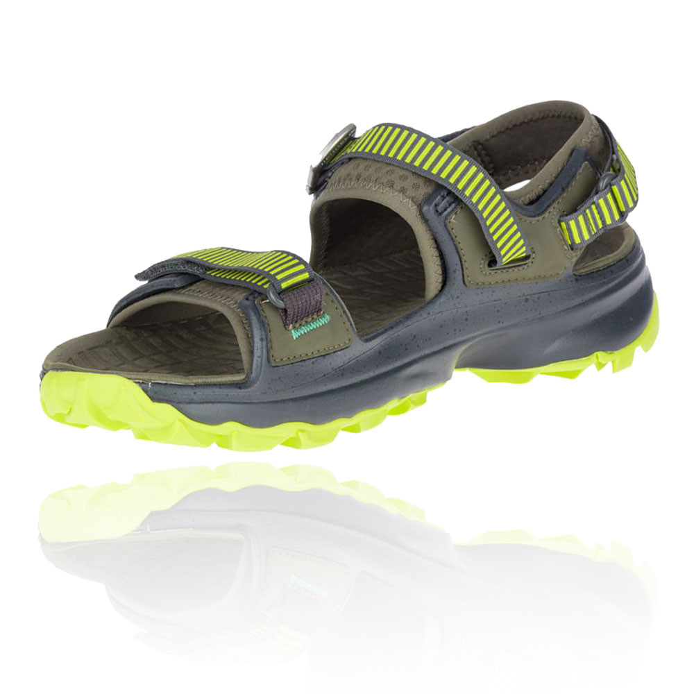 Merrell Mens Choprock Strap Shoes Sandals Green Yellow Sports Outdoors