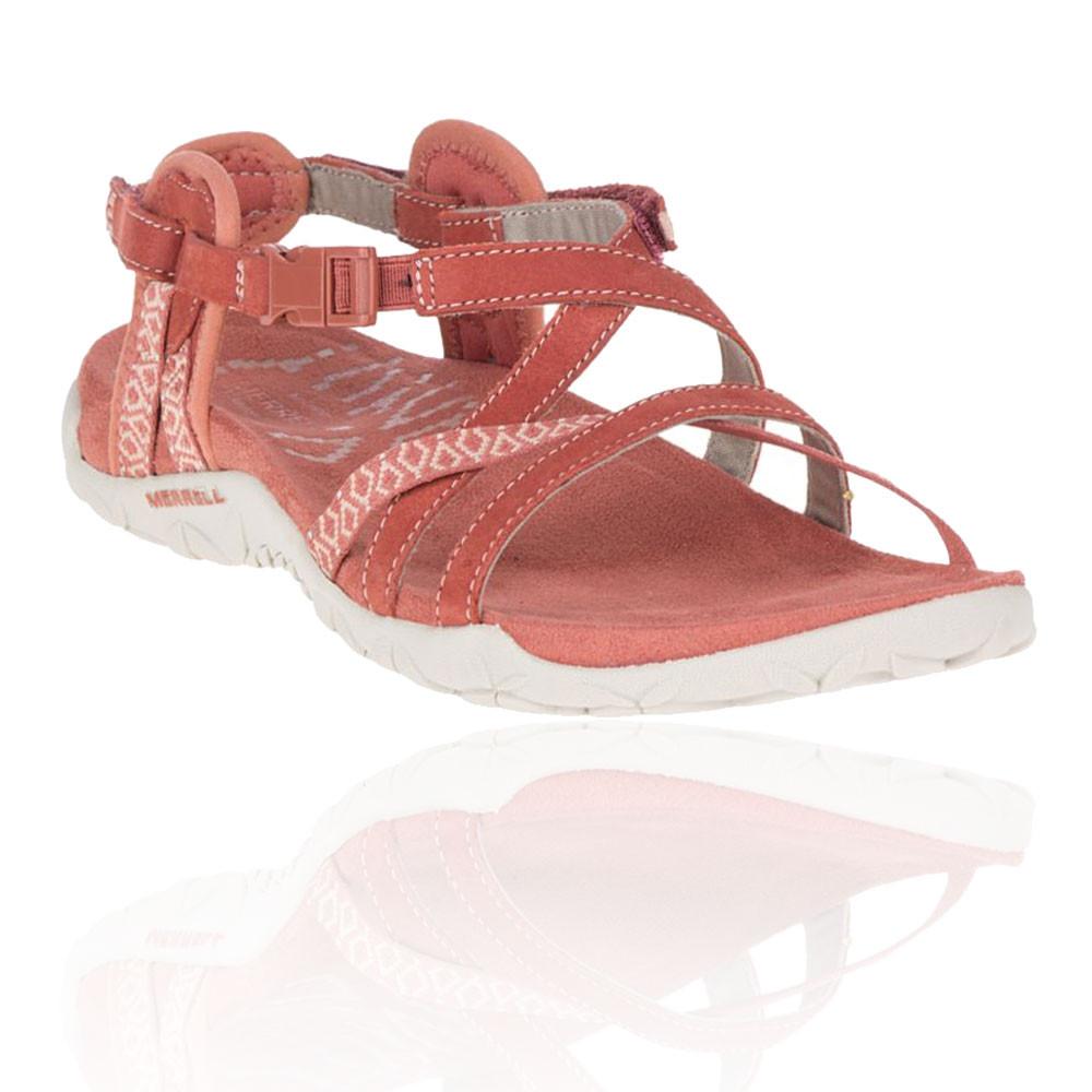 Merrell Damen Terran Lattice II Wanderschuhe Outdoor Schuhe Sandalen Rosa