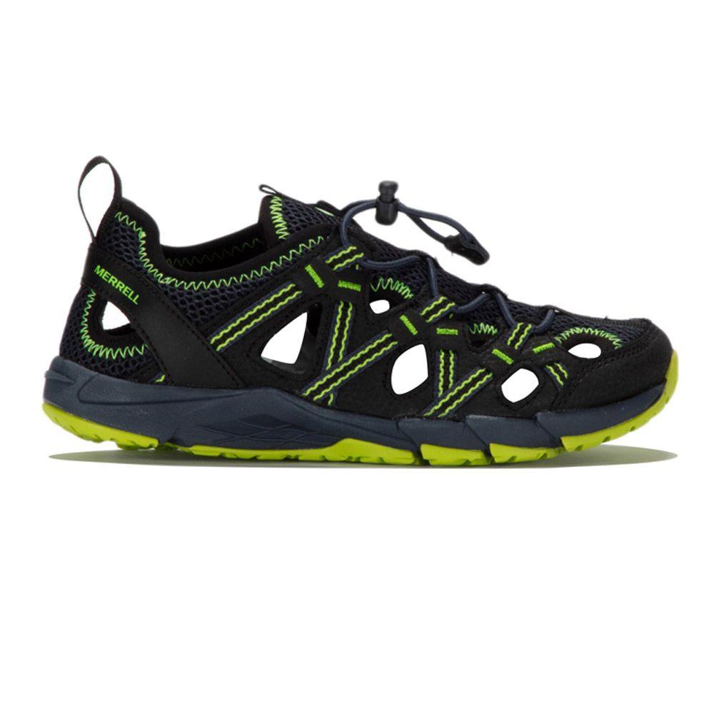 Détails sur Merrell Enfant Hydro Choprock Shandal Baskets Chaussures Gris Sport Respirant