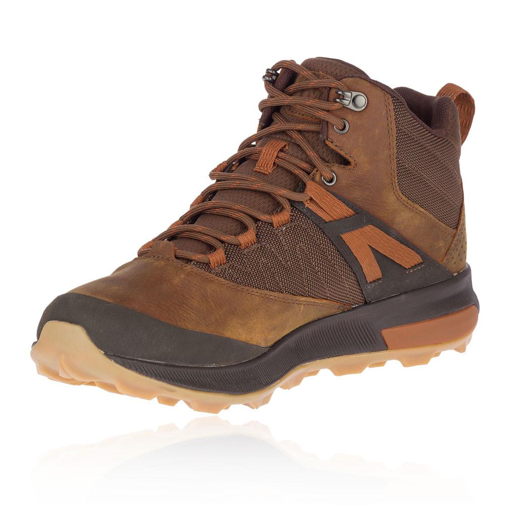 Brown Sports Outdoors Merrell Mens Zion Mid GORE-TEX Waterproof Walking Boot