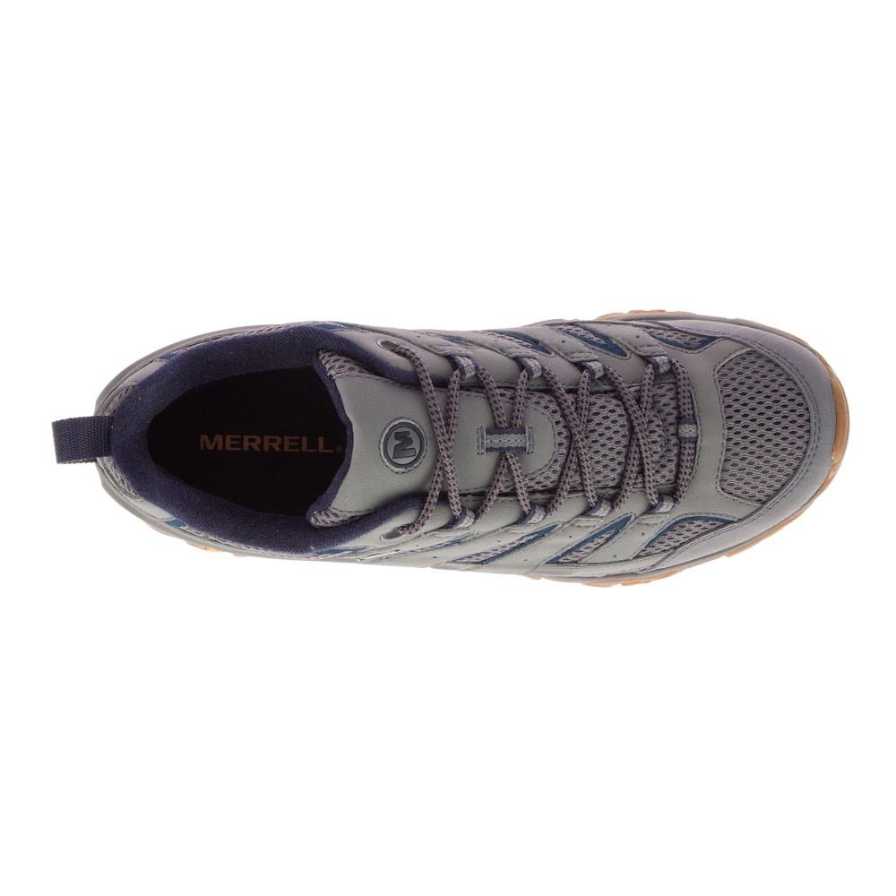 Dettagli su Merrell Uomo MOAB 2 GORE TEX Impermeabile Scarpe da Trekking Grigio Sport