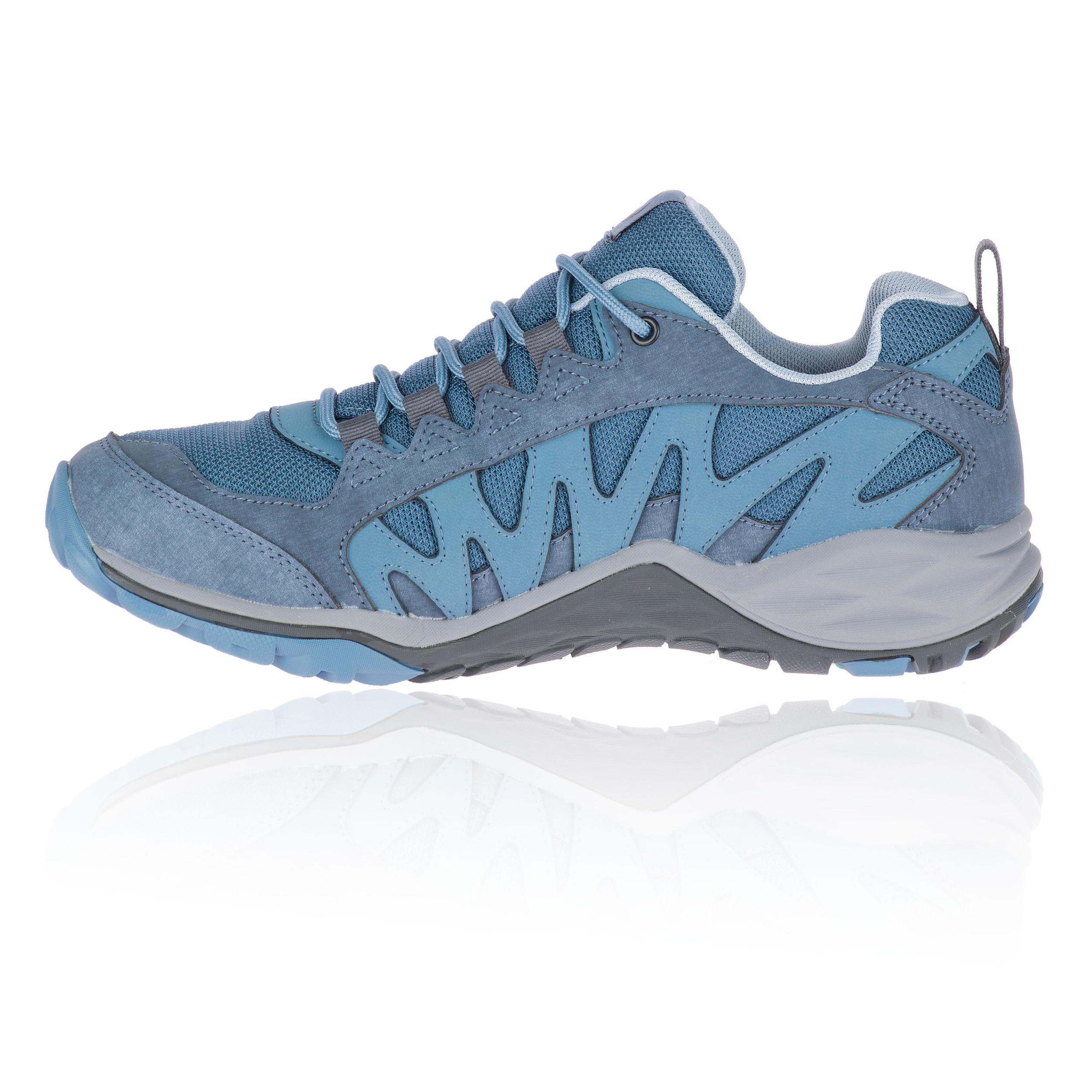 Détails sur Merrell Femmes Lulea Imperméable Chaussure De Marche Randonnée Bleu Sport