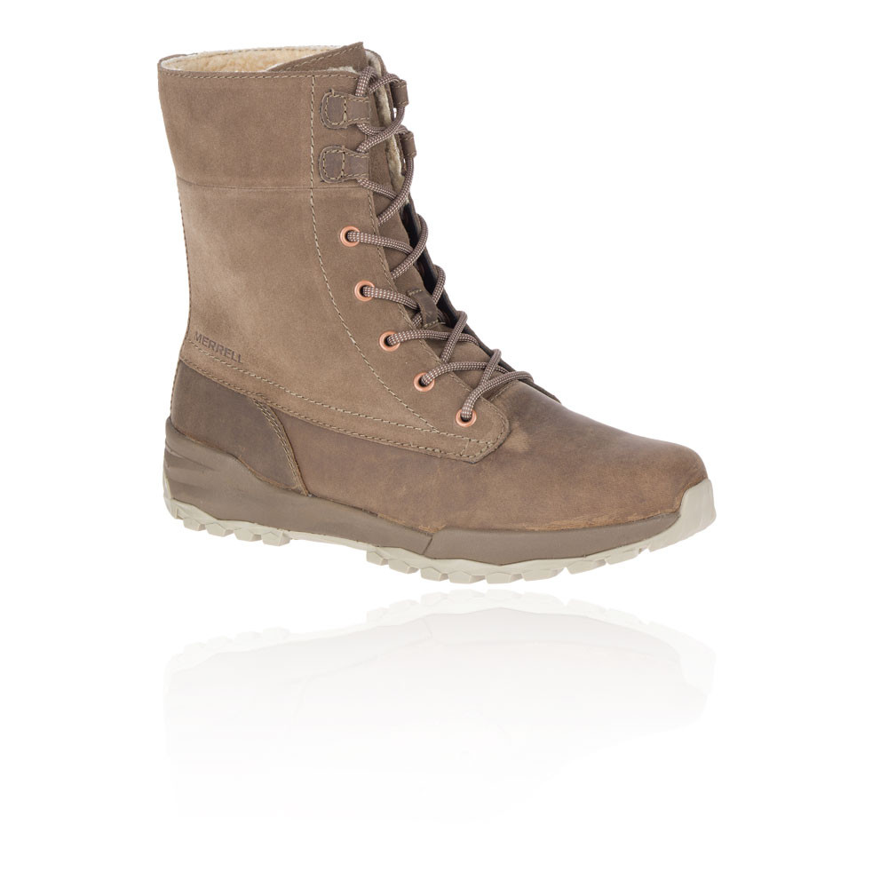 Merrell Icepack Guide Mid Lace PLR impermeable para mujer botas de trekking