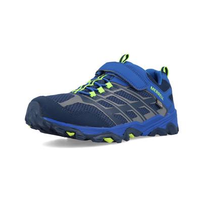 Merrell Moab FST Low A/C Waterproof Junior Walking Shoes