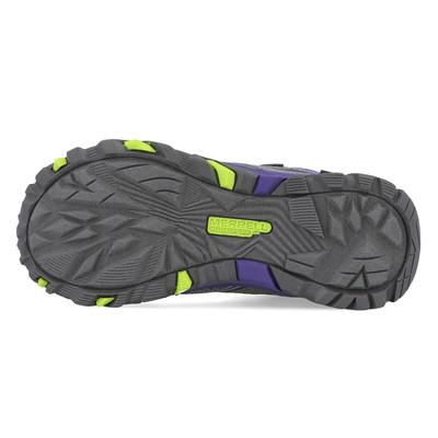 Merrell Moab FST Mid A/C impermeable Junior zapatillas de trekking