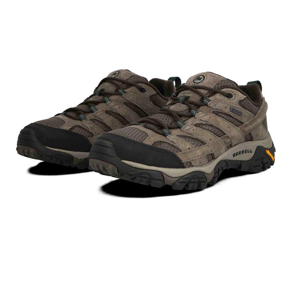 Merrell Mens MOAB 2 LTR GORE-TEX Walking Shoes - Cream Sport